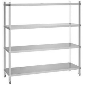 Manufacturers Stainless Steel 304 Bathroom Double Glass Shelf (06-3013)