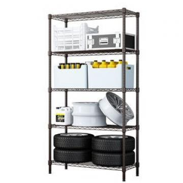 Commercial 5 Layer Adjustable NSF Heavy Duty Wire Metal Display Storage Shelving Rack on Wheels
