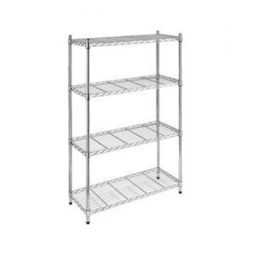 Giantmay Commercial Journal Retail Display Library Wire Metal Magazine Rack