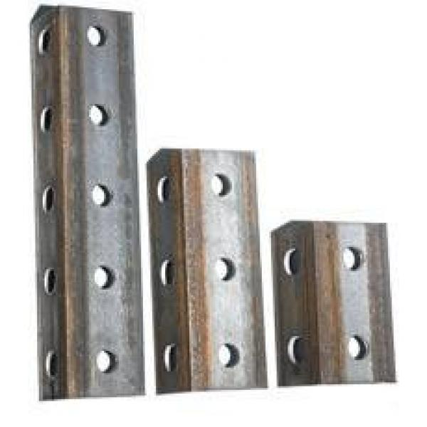 BS En S355jr S355j0 Galvanized Perforated Ms Steel Angle Slotted Iron Angle