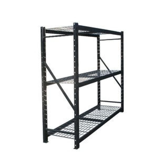 Commercial Storage Mobile Steel Shelving Wire Rack